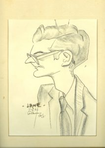 LJ as sketched at Zeta Psi 1965